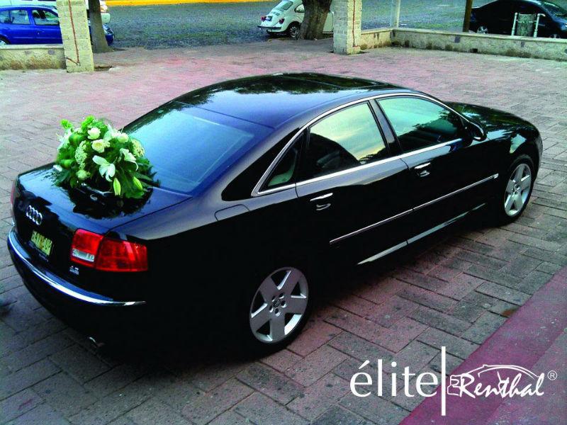 Autos de lujo para los novios de Elite Renthal en Guadalajara