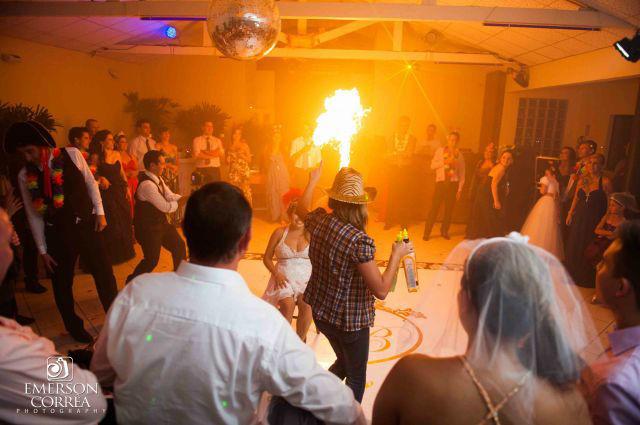 Fire Flair Bartender. Foto: Ermerson Correa