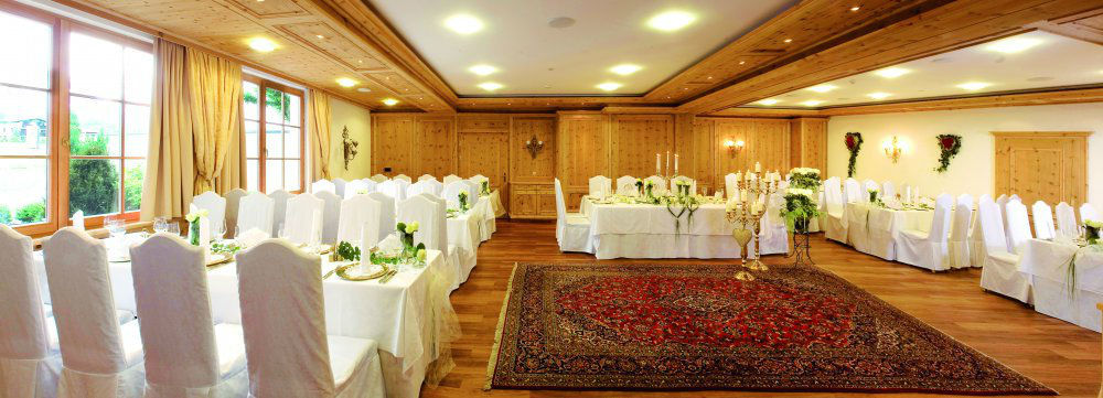 Beispiel: Theresiensaal, Foto: Garten Hotel Maria Theresia.
