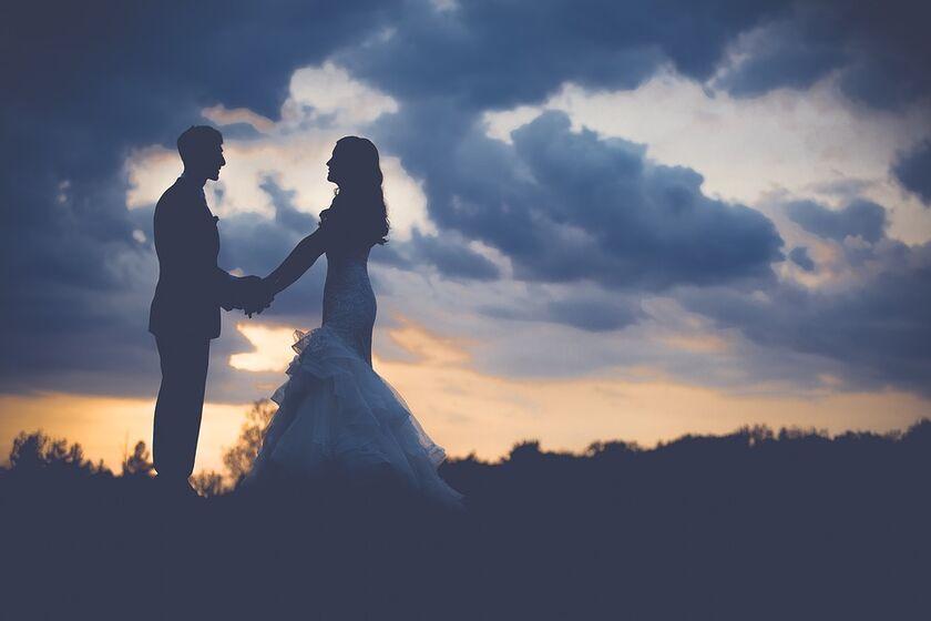 Jolis mariés