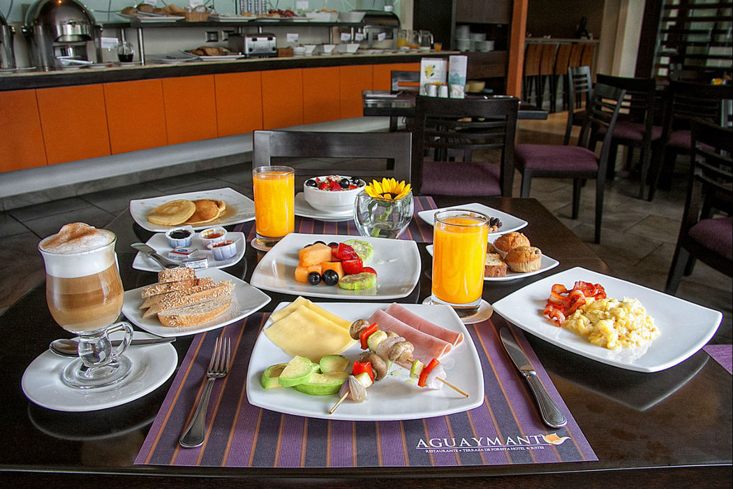 Breakfast Buffet Foresta Hotel Lima San Isidro