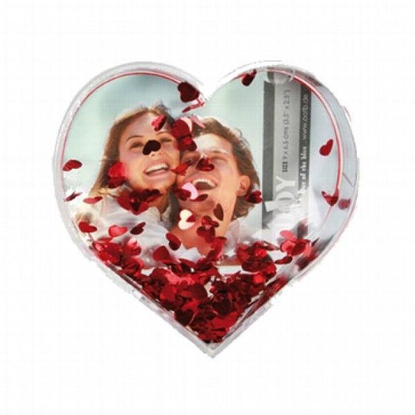 Beispiel: Bilderrahmen Herz, Foto: Hochzeitsgaudi.