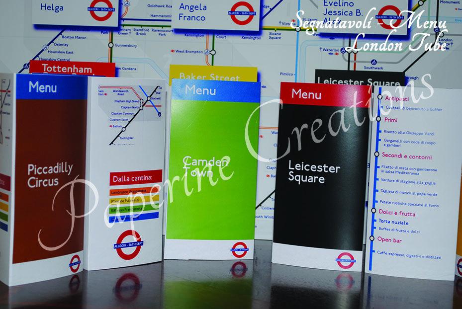 Menu Segnatavolo London Tube_2