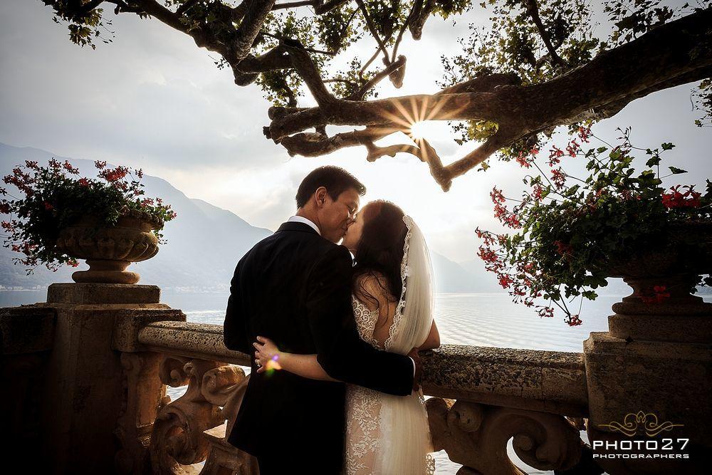 Matrimonio Villa del Balbianello, come in Star Wars