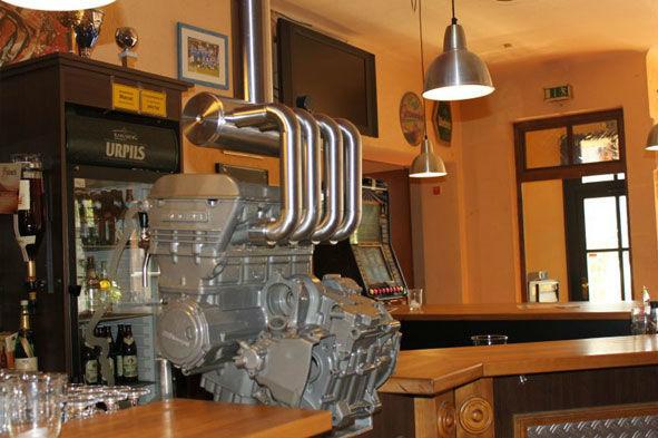 Beispiel: Zapfanlage, Foto: Café Stormwind.