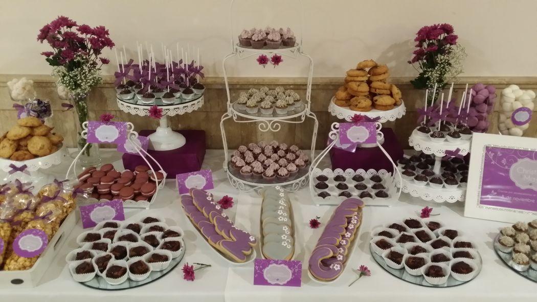 Mesa dulce boda Elche