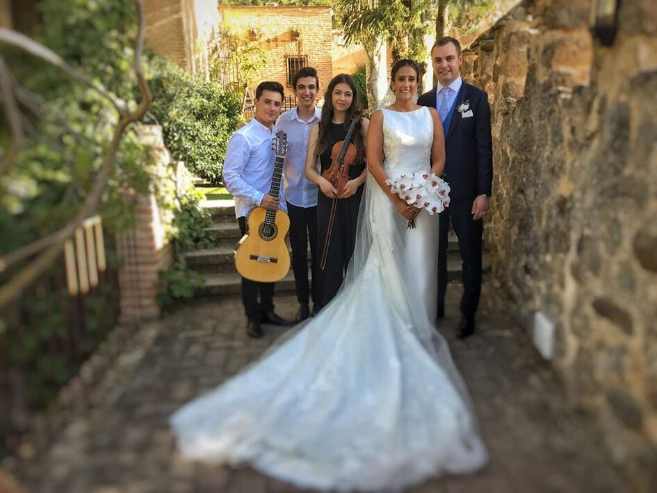 Músicos boda Toledo