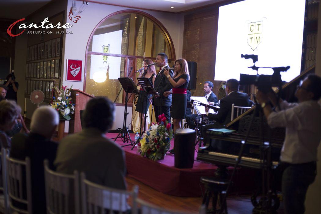 Cantaré, La Agrupación Musical