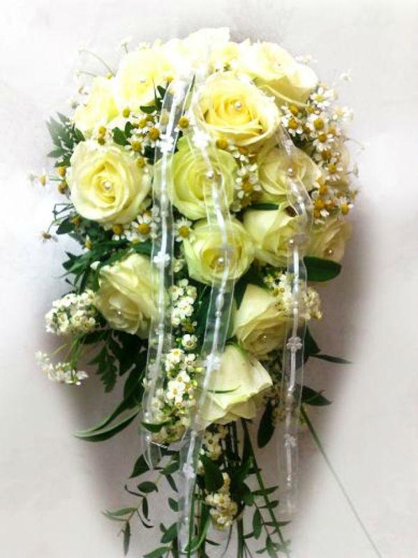 Beispiel: Brautstrauß, Foto: Blumen Dilek.