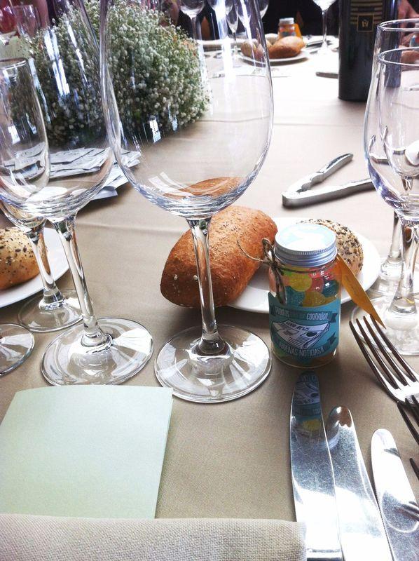 Sorprende a tus invitados cuando se sienten a la mesa...