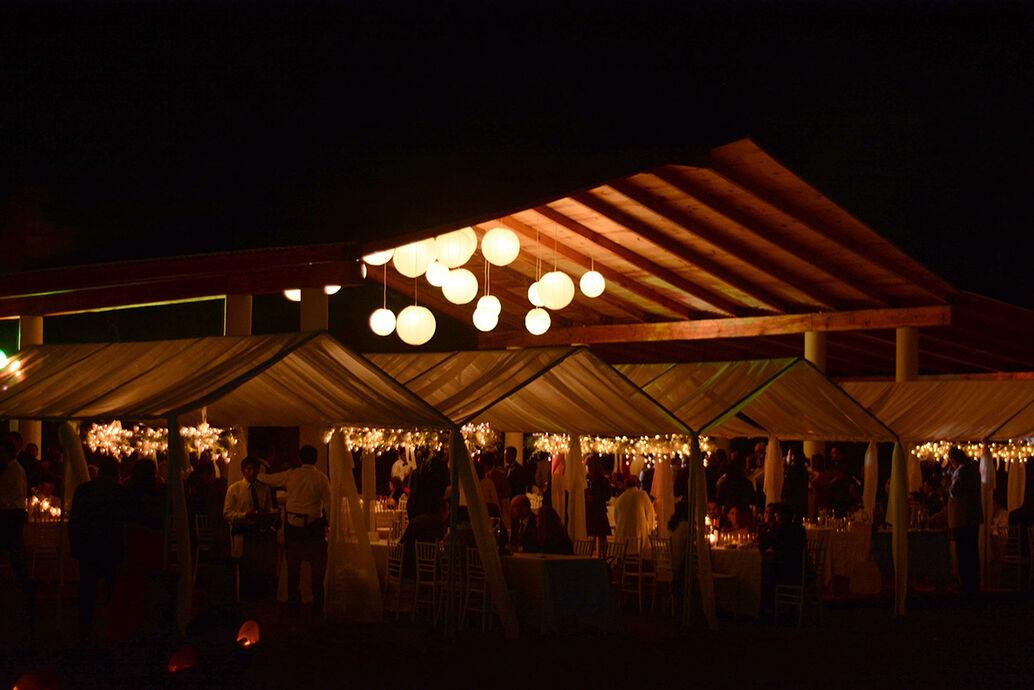 Terraza Zumú nocturna