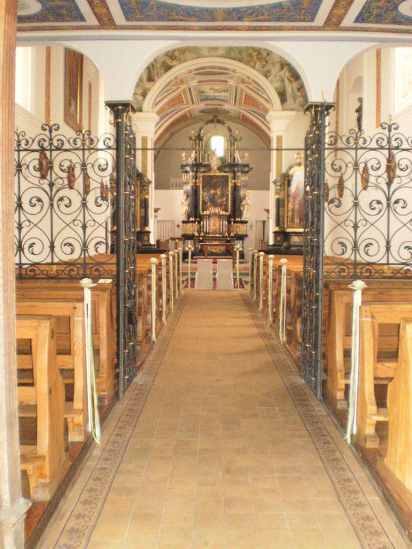 Beispiel: Kapelle, Foto: Burgrestaurant Gebhardsberg.