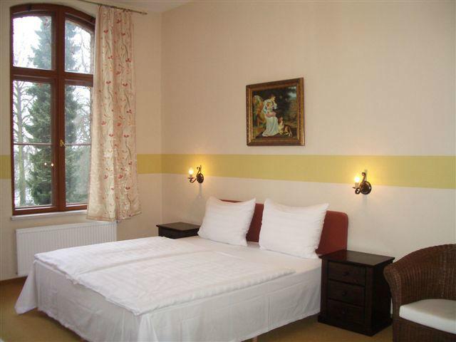 Beispiel: Zimmer im Schloss, Foto: Schloss Neetzow.
