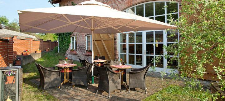 Beispiel: Terrasse, Foto: Landhof Liepe.