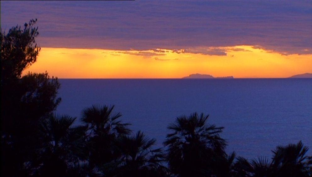 View to the Island of 'Capri'