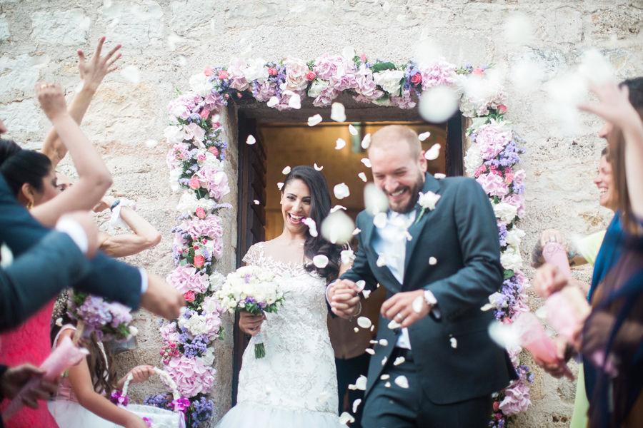 American wedding in Umbria