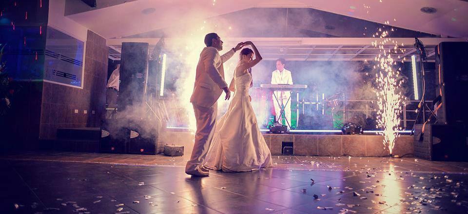 Orquesta en vivo en una boda