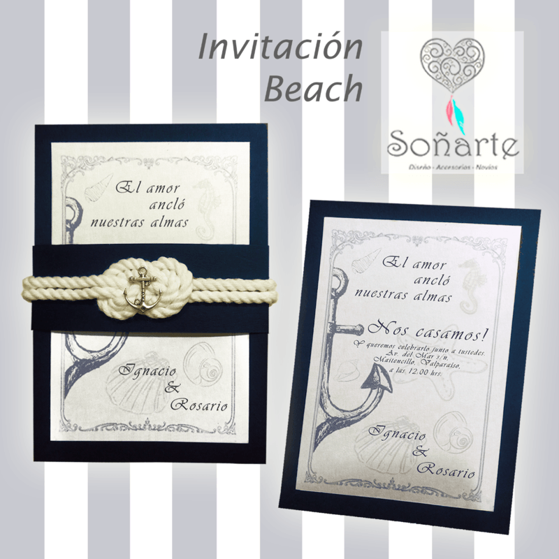 Invitación Beach