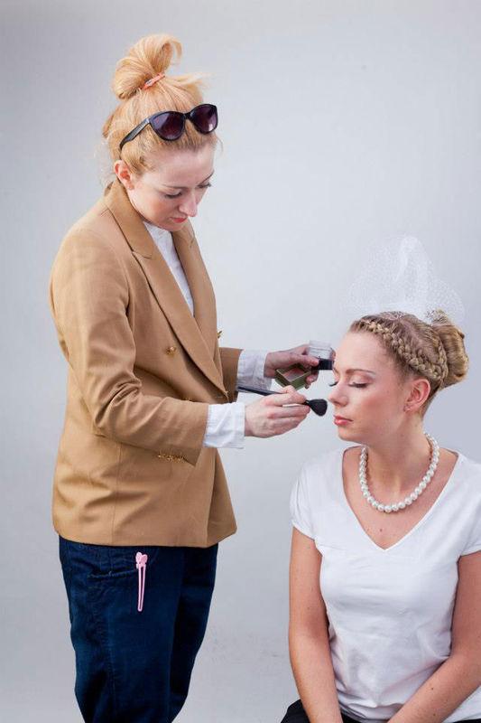Magda Banachowicz make-up-ik