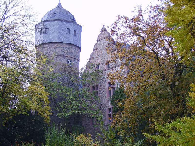 Beispiel: Außenansicht Altes Schloss, Foto: Restaurant Schlosskeller.