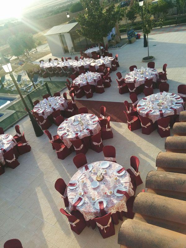 Cenador en zona piscina Sep2016