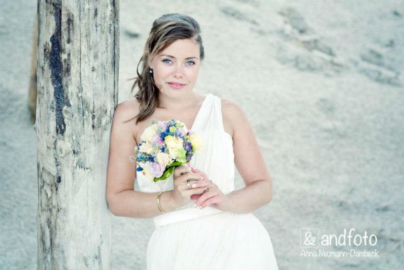 Beispiel: Portrait der Braut, Foto: andfoto.