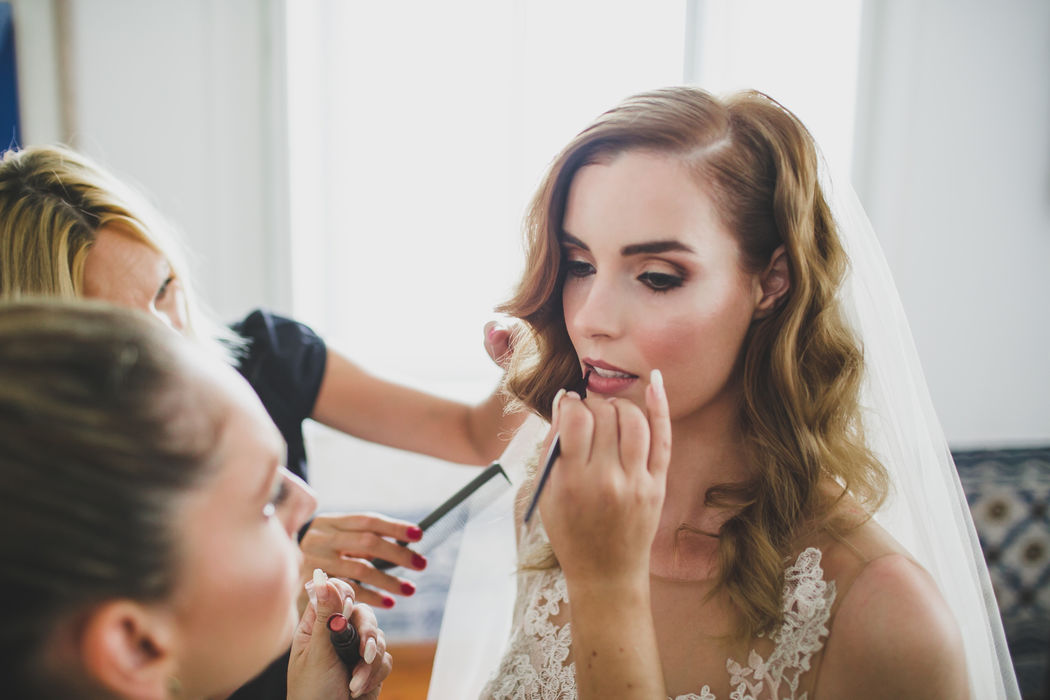 Makeup: Jordana Carraça Stylist and Makeup Artist Cabelos: Dorota Santos Hairstylist Wedding Planner: Something Borrowed Fotografia:Jesus Caballero Photography