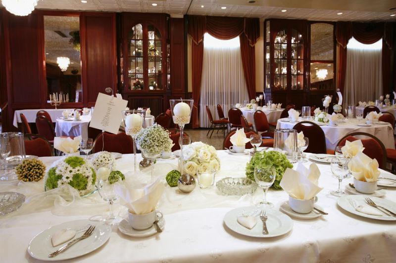 Beispiel: Hochzeitstafel, Foto: Landhaus Wieler.