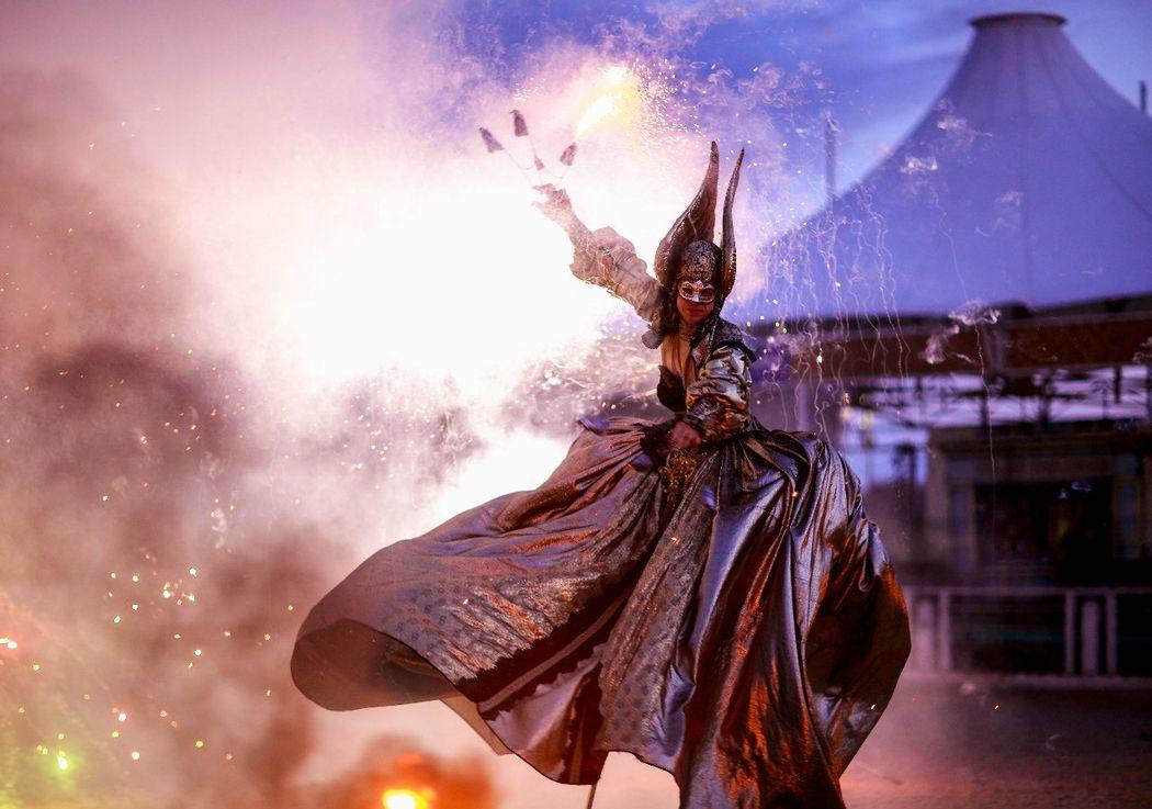 Театр огненных легенд Salamandra