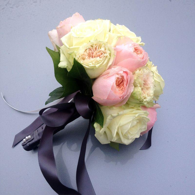 Bouquet pastel romantique