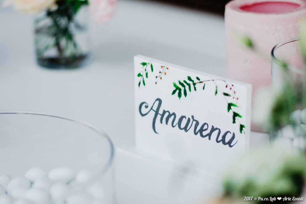 Art wedding theme