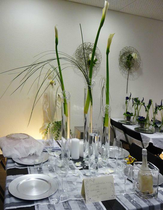 Beispiel: Florale Dekoration, Foto: Blumenhaus Frei.