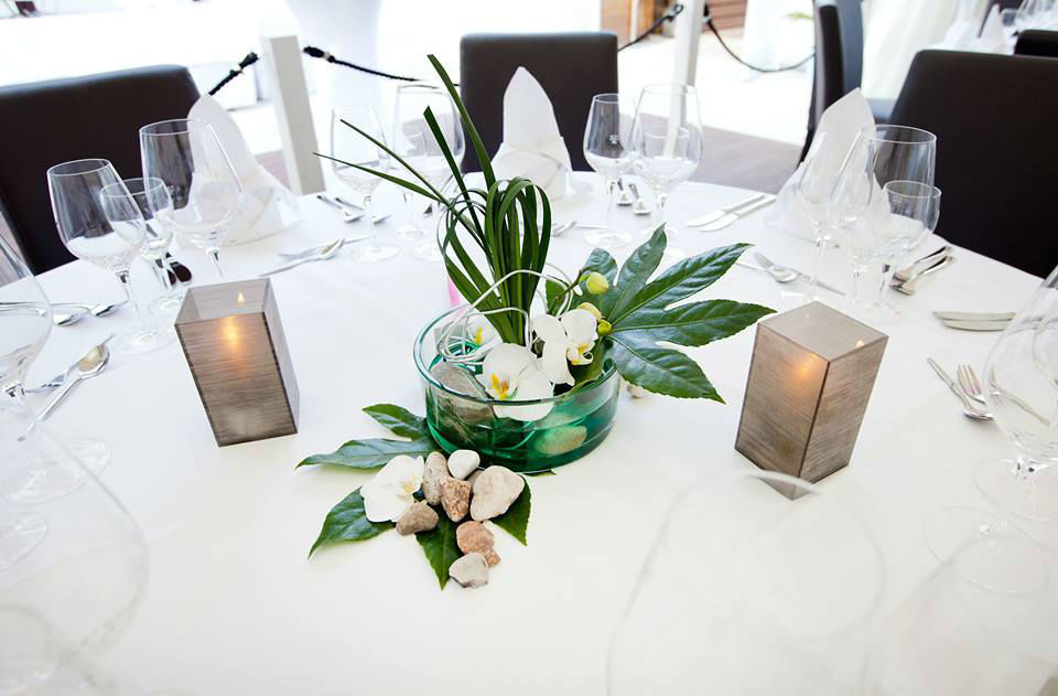 Beispiel: Tischdekoration, Foto: Buddha Lounge Red Mandarin.