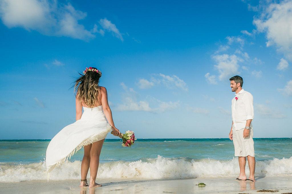 Boda en la Playa de San Andrés Islas por Saiweddings