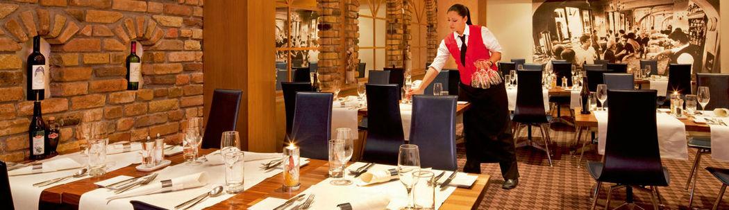 Beispiel: Restaurant, Foto: Mövenpick Hotel Zürich-Regensdorf.