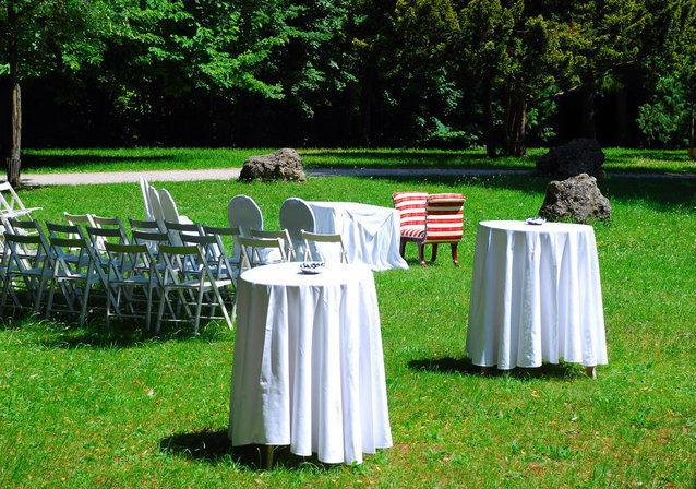 Beispiel: Garten, Foto: Villa Toscana.