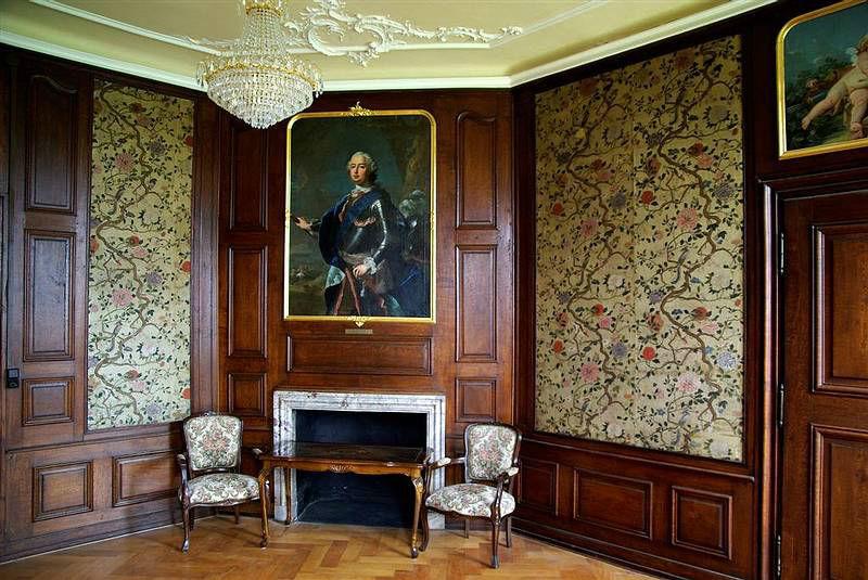 Beispiel: Kaminzimmer, Foto: Schloss Langenselbold.