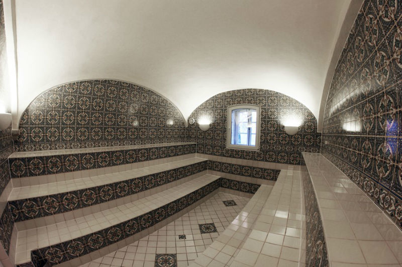 Beispiel: Dampfbad, Foto: Gut Sedlbrunn.