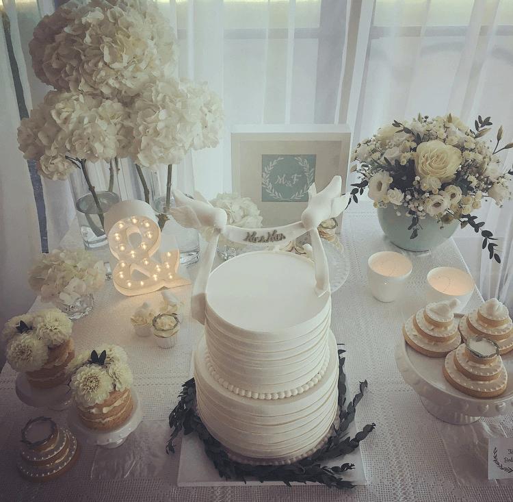 Wedding Cake Table M&F