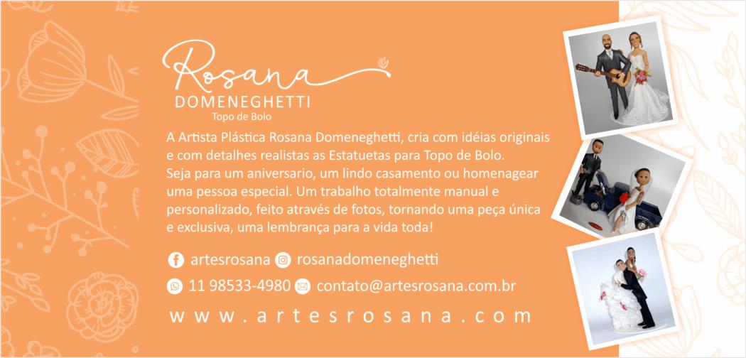 Rosana Domeneghetti - Topo de Bolo