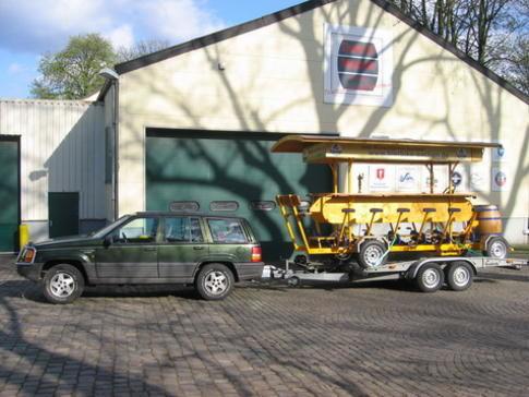 Beispiel: Transport, Foto: BierBike Aachen.