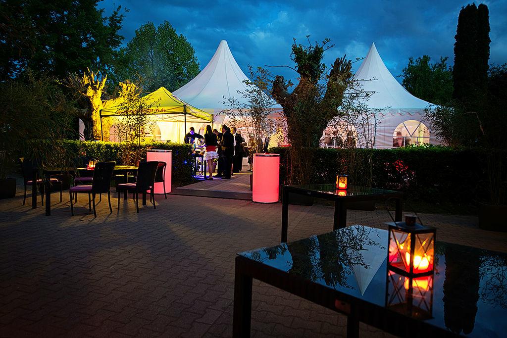 Beispiel: Traumhafte Hochzeitslocations, Foto: Romina Certa Weddings & Events.
