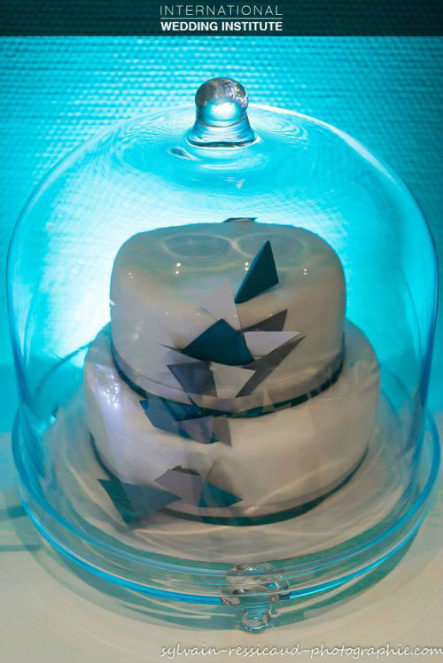 Beispiel: Hochzeitstorte, Foto: International Wedding Institute.