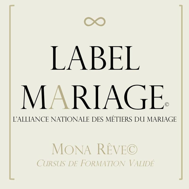 Formée et certifiée Label Mariage.