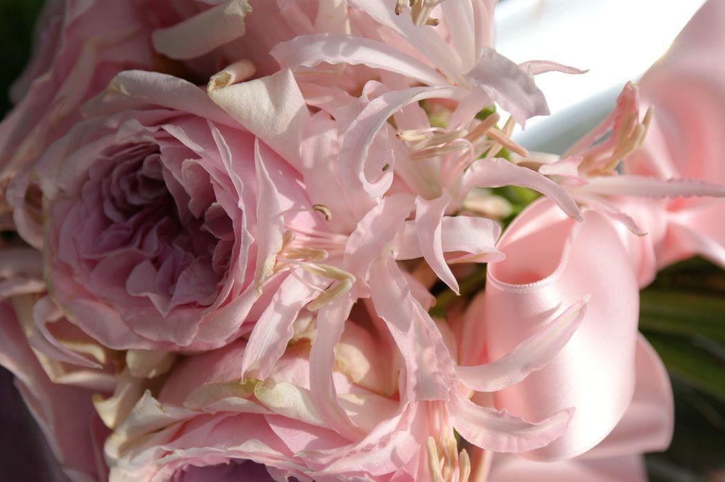 #Nature Lodge #Brautstrauss #Brautstrauss englische Rosen #Brautstrauss pink