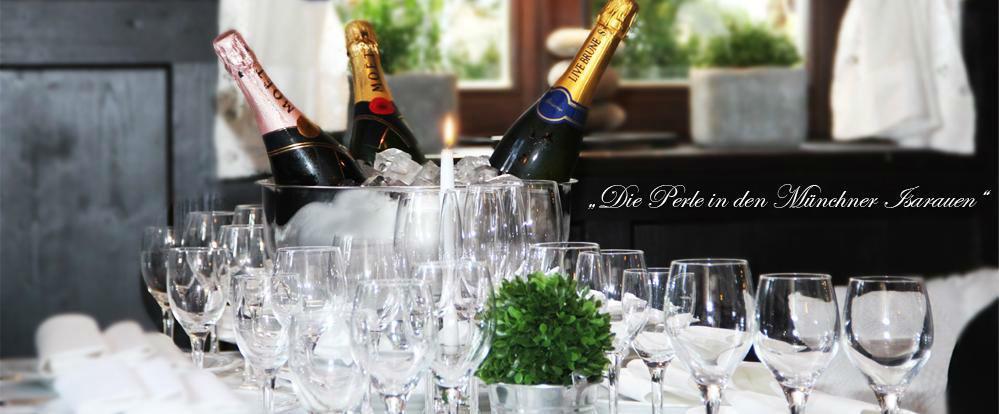 Beispiel: Champagner, Foto: Gasthof Hinterbrühl.