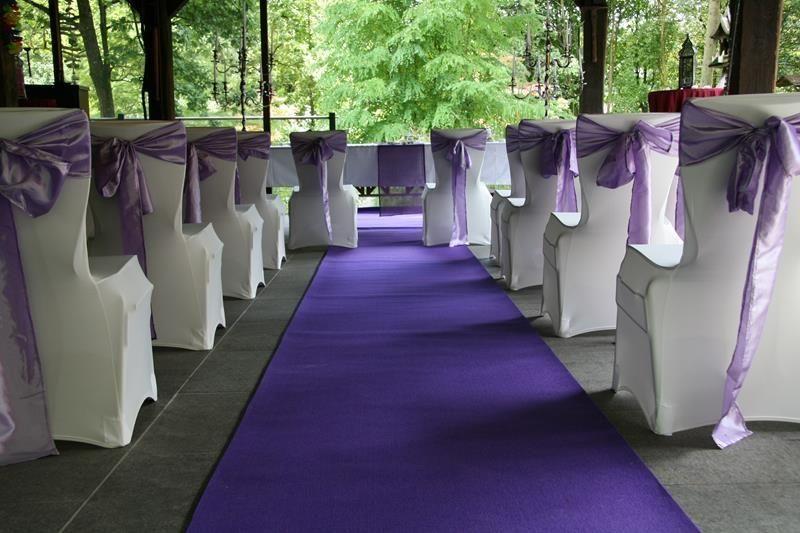 Beispiel: Trauung im Pavillon, Foto: Traumgarten Thalwil.