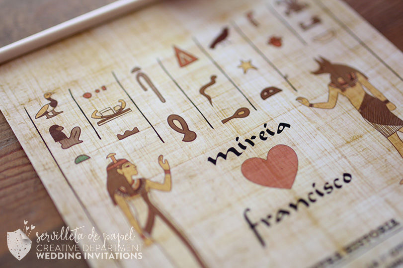 Invitación Papiro
