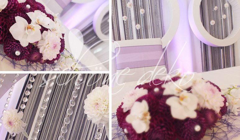 Beispiel: Besondere Blumengestecke, Foto: Schöne Deko.