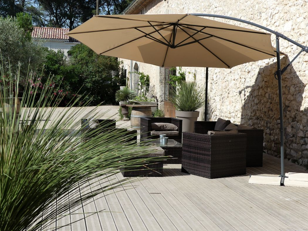 Terrasse cour